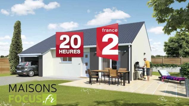 Heures france reportage maison neuve pas cher with maison for Prix maison a batir